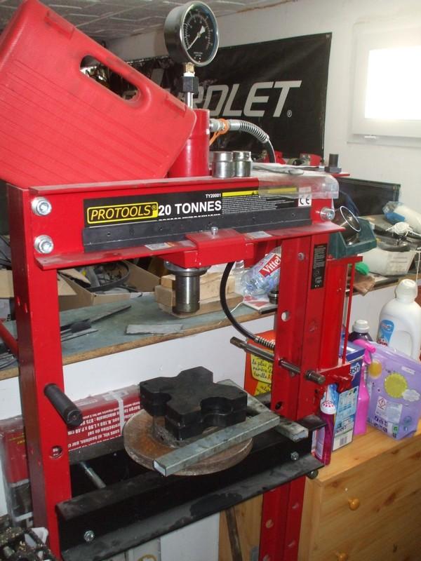 presse hydraulique 20T Protools Presse20t1
