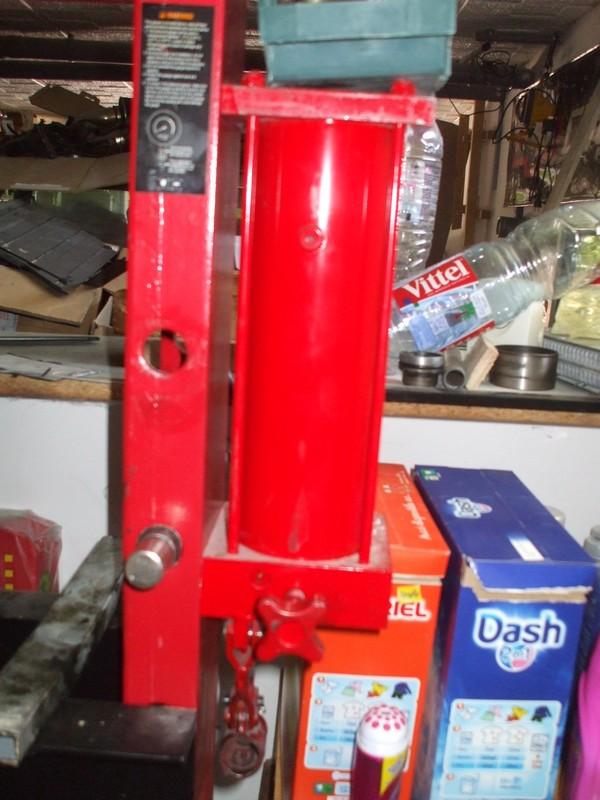 presse hydraulique 20T Protools Presse20t3